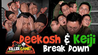 Killer Game S3E10 Deekosh and Keiji Break Down