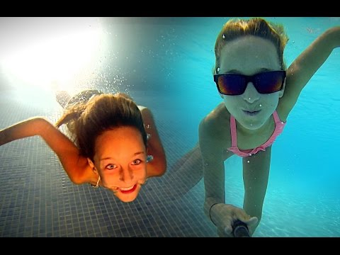 Carla Underwater-Swimming day and night underwater