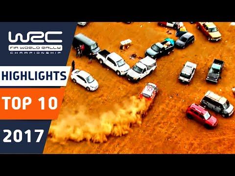 WRC 2017: Najlepších 10 momentov