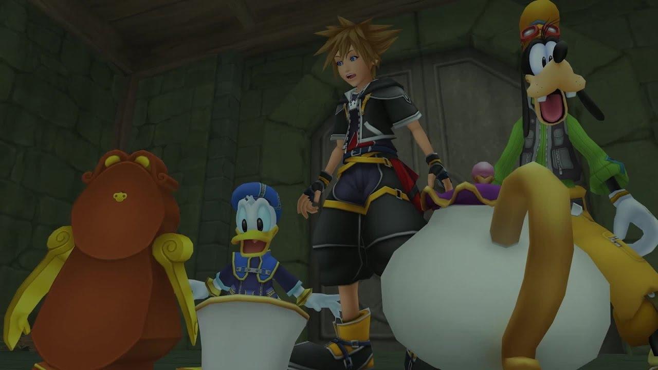 Kingdom Hearts HD 1.5 + 2.5 ReMIX – Personaggi e luoghi familiari