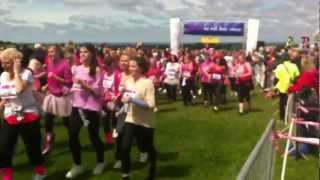 preview picture of video 'They are off Epsom Race For Life 2012'