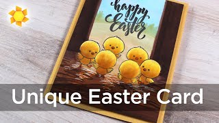 Making A Unique Easter Card - Chickie Baby