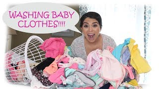 Preparing for baby | Washing baby clothes| 37 weeks pregnant