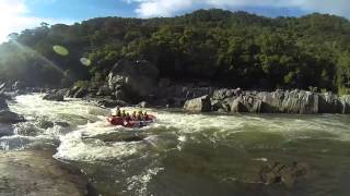White Water Rafting on the Barron River GoPro