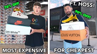 Who Can Find The MOST EXPENSIVE Sneaker For The CHEAPEST Price?