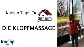 Video Die Klopfmassage - Kneipp-Tipps für daheim Teil 1 abspielen