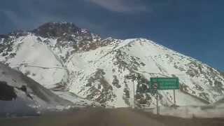 Mendoza Julio 2015 -  Paso A Chile Cristo Redentor Caracoles (en Invierno)