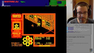Live Let's Play – Amstrad CPC – Gunfright