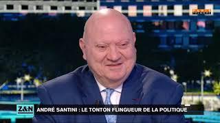 """André Santini Dans """"Zemmour Et Naulleau"""" Sur Paris Première"""