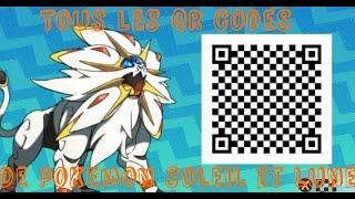 Tous Les QR Code De Pokemon Soleil Et Lune
