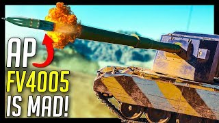 ► 183mm AP is Crazy! - World of Tanks FV4005 Stage II Gameplay