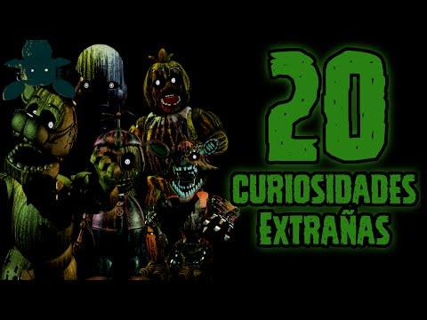 TOP 20: Las 20 Curiosidades Extrañas De Los Animatronicos Phantom | fnaf 3