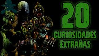 TOP 20: Las 20 Curiosidades Extrañas De Los Animatronicos Phantom   fnaf 3