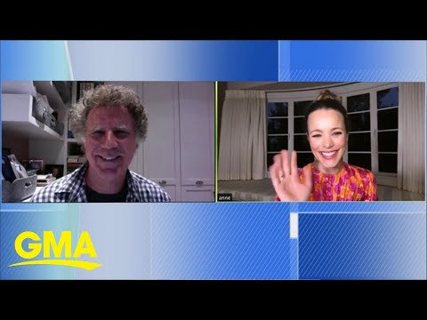 Will Ferrell and Rachel McAdams talk about their film inspired by Eurovision   GMA