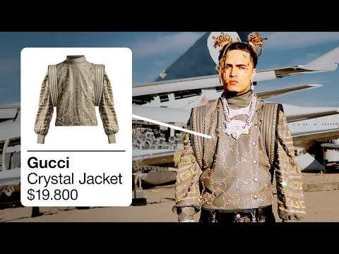 WHAT'S ON LIL PUMP? RACKS ON RACKS / BUTTERFLY DOORS / BE LIKE ME [LIL PUMP OUTFITS] - WHAT'S ON THE STAR?