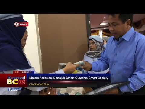 [REDAKSI] Malam Apresiasi Bertajuk Smart Customs Smart Society