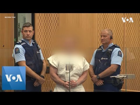 New Zealand Mosque Shootings Suspect Appears in Court