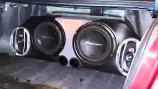 Bass Test Audio Car competencia - Smiack Dj.wmv