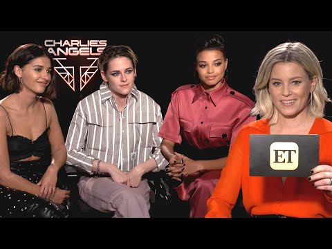 Elizabeth Banks Interviews The Cast Of Charlie's Angels (Exclusive)
