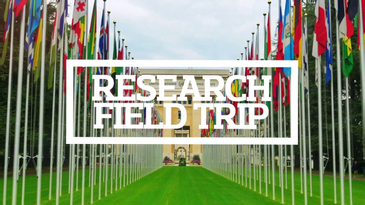 A look at some of the research fieldtrips available to University of Derby International Relations students