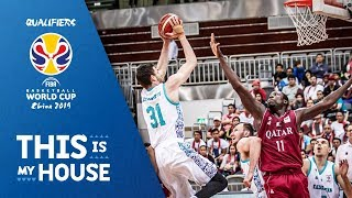 Qatar v Kazakhstan - Highlights - FIBA Basketball World Cup 2019 Asian Qualifiers 2019