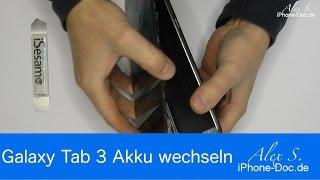 Samsung Galaxy Tab 3 8 zoll Akku tausch, wechseln Deutsch