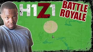 H1Z1 Battle Royale Gameplay - I CAN'T READ THE MAP!! | H1Z1 PC Gameplay
