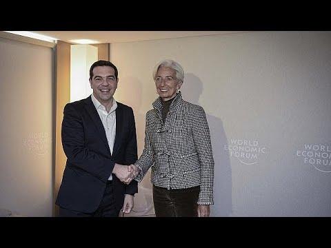 Χρέος και ελληνική οικονομία στις συναντήσεις Τσίπρα με Λαγκάρντ και Μοσκοβισί…
