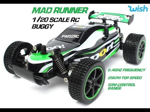 MAD RUNNER 1/20 SCALE RC BUGGY