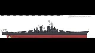 USS Montana - Guide 118