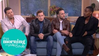 Blue Talk Openly About How They Survived Bankruptcy | This Morning