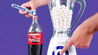 Blender VS Coca Cola and Mentos | 16 Awesome Experiments