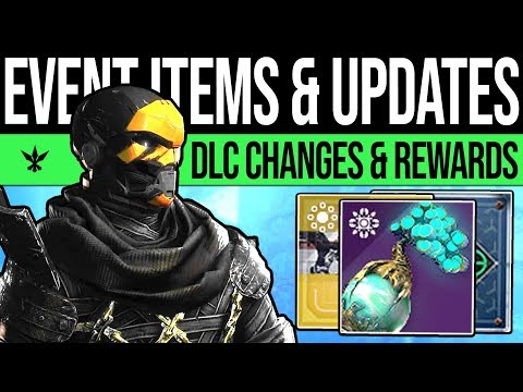 Destiny 2 | EVENT QUESTS & REWARD UPDATES! Mystery Item, Future DLC, Consumables, Feedback & More