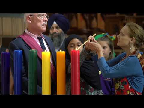 Peace Mala International Inter-Faith Liturgy for World Peace Llandaff Cathedral Wales UK – Thursday 20th July 2017