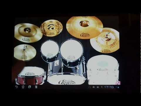 Video of Drums Droid realistic HD