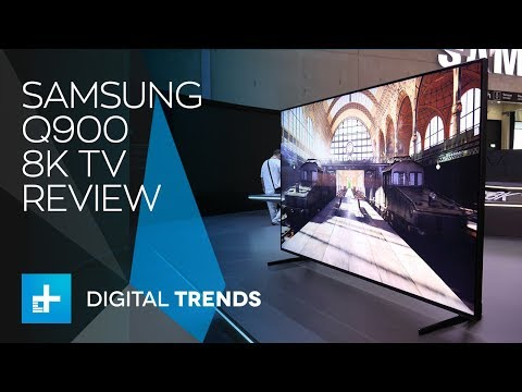 Samsung 8K QLED TV - 85-inch Q900 - Hands On Review