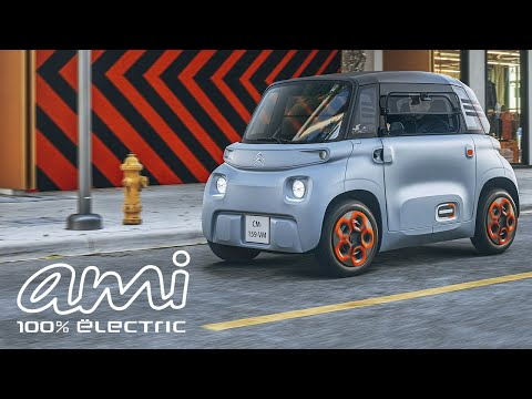 CITROËN AMI 100% ËLECTRIC - Reveal