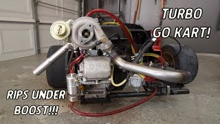 Turbo Go Kart Finally Makes Boost!