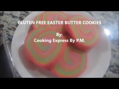 GLUTEN FREE EASTER BUTTER COOKIES