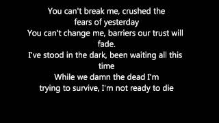 Avenged Sevenfold - Not Ready To Die Lyrics HD 1080