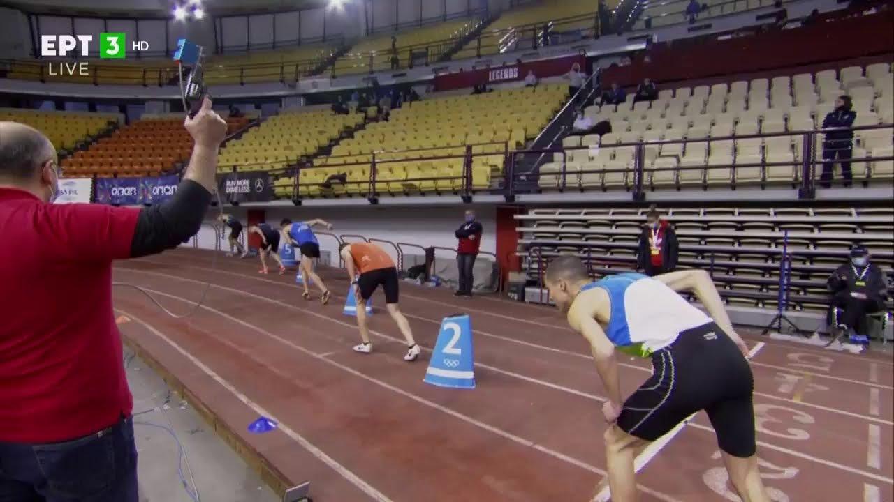 Νικητής στα 800 μέτρα ανδρών ο Χρήστος Κοτίτσας | 13/02/2021 | ΕΡΤ