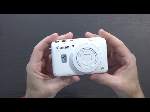 Canon's Weirdest Point-and-Shoot with a Rear Facing Camera? Powershot N100