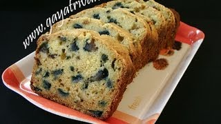 Eggless Plum Cake - Natrual Fruits - Indian Recipes - Andhra