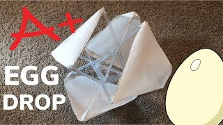 DIY First Place Winning Egg Drop