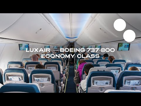 LUXAIR NEW ECONOMY BOEING 737-800 LISBON – LUXEMBOURG