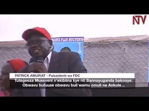 OKUVUGANYA E SHEEMA:  FDC etongozza kampeyini