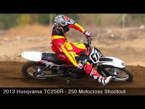 MotoUSA 2013 Husqvarna TC250R Motocross Shootout