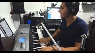 Carmesí - Vicente García (piano cover)