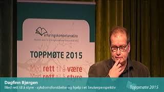 Toppmøte 2015 – Dagfinn Bjørgen
