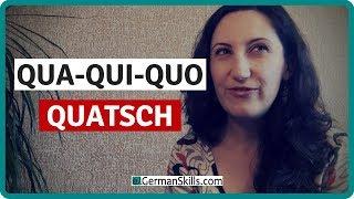 👄 Aussprache von QU